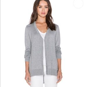 Bailey44 Caselli light heather Cardigan sz S B00